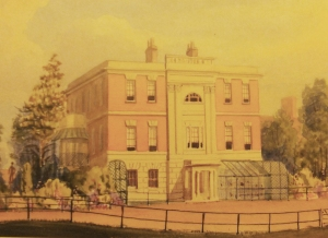 Quex House when built
