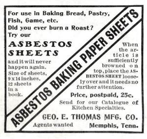 asbestos advert