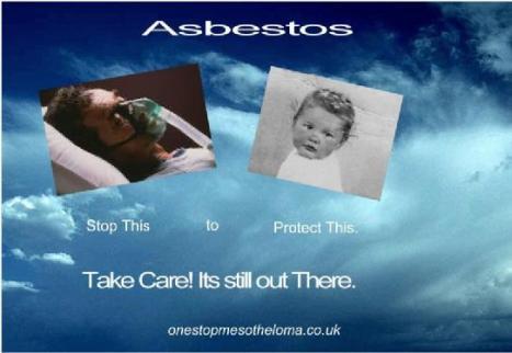 asbestos man and baby