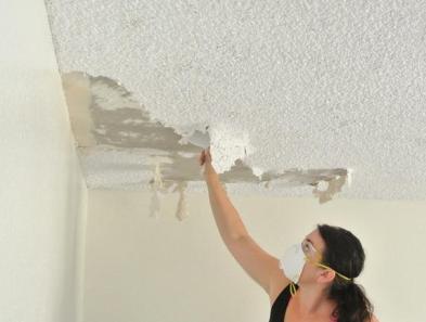 asbestos ceiling 1
