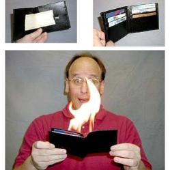 wallet alight