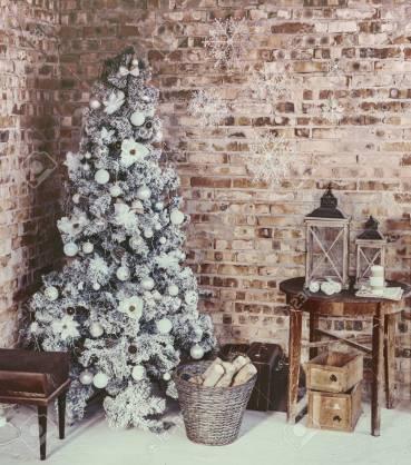 Loft Christmas room