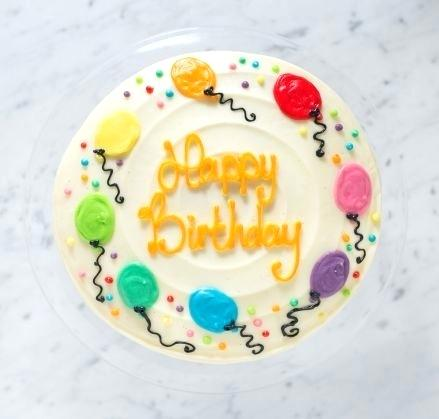 Admirable Cakes For Birthday Rainbow Balloons Cake Top Vanilla Vegan Funny Birthday Cards Online Eattedamsfinfo
